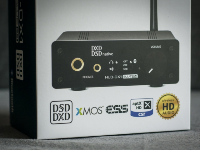 Audinst HUD-DX1 Blue24 — mighty flagship DAC&AMP with 24bit wireless audio